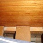 Underneath sofa beds (again)