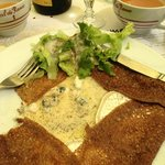 Creperie La Misaine, 3 cheese galette
