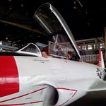 My son Trent in a MiG!