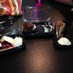 Red Velvet, Oreo and Tiramisu cheesecakes