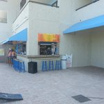 beach front resort bar (loved the fishbowl drinks! yummy wings, mozzarella sticks)