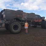 World's Largest Monster Truck and I got a ride in it!!! :) Brilliant day with Bullets and Burger