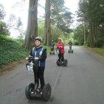 Parcours dans le Golden Gate Park