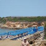 La spiaggia di Svoronata.