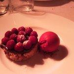 Magnifique tarte nutella framboise!