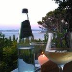 Panorama dal ristorante sulla terrazza