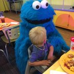 Cookie Monster at Dine with Me