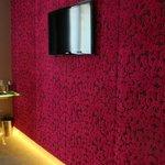 Velvet textured wallpaper