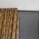 Paneles como cortinas