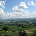 View from Marialuisa's vineyard