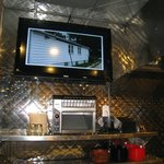 Two flatscreen displays 4 your viewing pleasure (Copyright 2012 by M.R. Traska; all rights reser