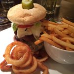 Triple cheeseburger. Another from the specials board