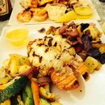 Lobster and Seafood combo platters