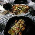 Pizza and Pasta!!!  YUM