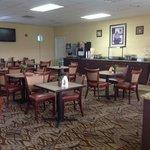 Large breakfast area