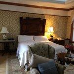 beautifully renovated room