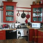 Beautiful Kitchen at Stolzfus Bed and Breakfast Inn