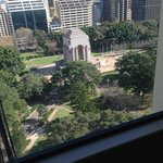 View of Anzac Memorial at Hyde Park