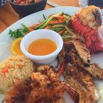 Baas , Lobster and Shrimp