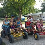 Peddle carts