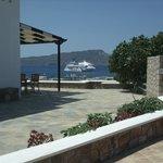 Vista desde el Hotel al Golfo de Adamas