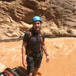 Nick in East Virgin River... just a little muddy.