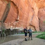 Tim and Nick on our canyoneering trip with ZMS.