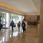lobby hermoso moderno