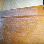 More Mould on door and tiles