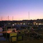 Sunset View of Mikrolimano