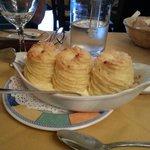 Creamed potato with cream cheese