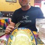 Loco 3 lbs burrito!
