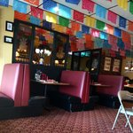 Festive family dining at Mexico in Alaska