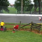 2014 Indycar practice in rain