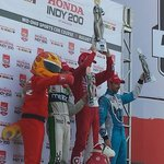 Winners: Dixon came from last to 1st to win, Bourdais #2, Hinchcliffe #3