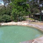 A lovely refreshing dip in the pool, was great after our bush walk around the side of the mounta