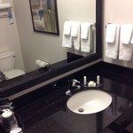 Big bathroom counter