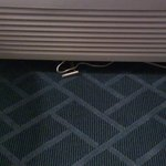 Wires under air conditioner