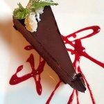 Great raspberry choc cake