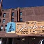 East side of Finlen Hotel