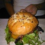 Beef, bacon burger