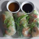 Spring rolls by room service