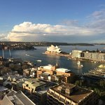 Beautiful day looking over the harbour