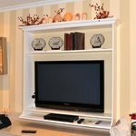 TV in place of a fireplace