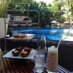 Suites Afternoon Tea (try to get a seat by the pool!)