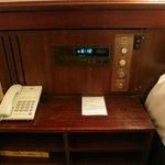 Ye olde alarm clock and radio
