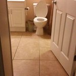we were able to put a portable toilet chair over this commode and easily access it  with the hoy