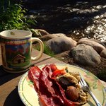 Breakfast on the river