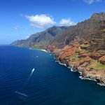 Na Pali from the air