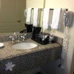 Nice vanity/sink area